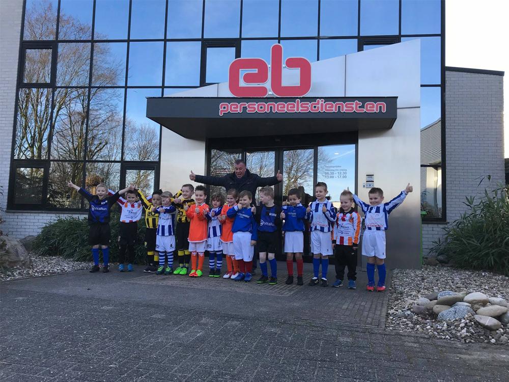 Spelers MVV'58 bij promotie Rivierenland Toernooi